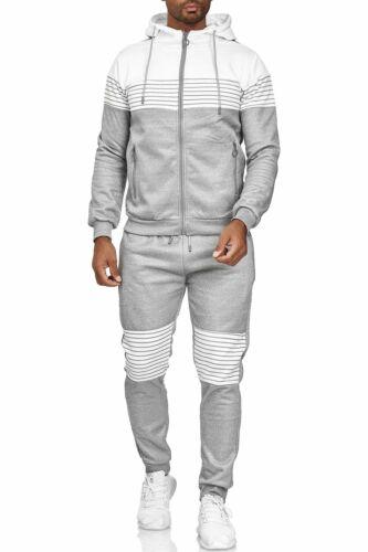 Uomo Street Tuta Sportiva Tracksuit Sweatsuit Joggingsuit strisce orizzontali