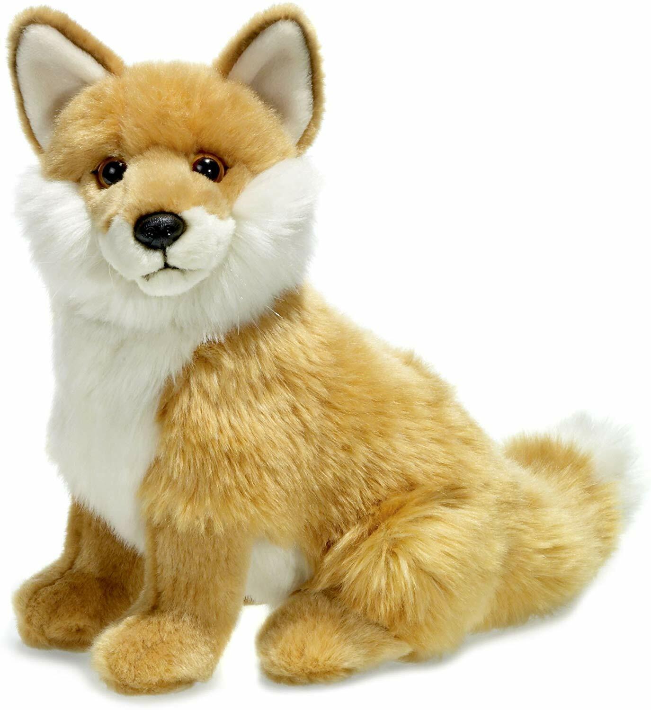 Silver Fox Stuffed Animal, Wwf16980 Wwf Silver Fox Soft Toy 23cm By Ibtt For Sale Ebay