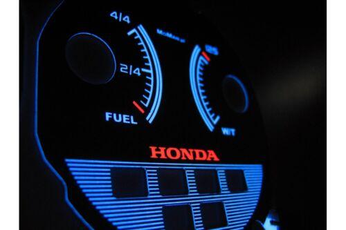 92-95 HONDA CIVIC glow gauges dials plasma dials tacho glow tachoscheibe style 1