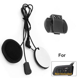 casque micro headset pour v6 bt intercom moto bluetooth interphone communication ebay. Black Bedroom Furniture Sets. Home Design Ideas
