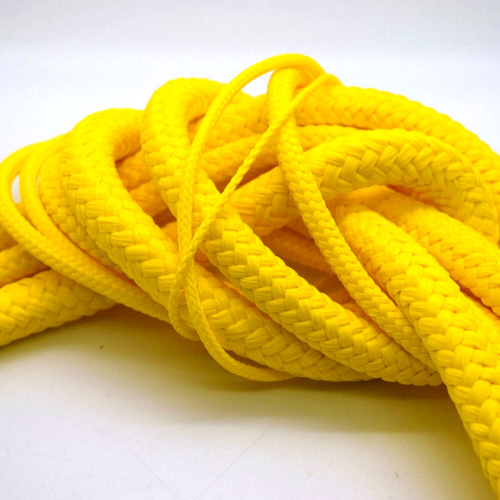 Yellow Poly Rope Polyrope Polypropylene Polyprop Agriculture Tarpaulins Marine