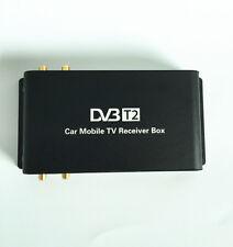 1080P Car DVB-T2 Four 4 Mobility Tuner Digital Tv Receiver 180 km/h For England