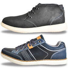 SKECHERS Mens MEMORY FOAM Leather Fashion Boots Shoes Trainers £34.99 Free P&P