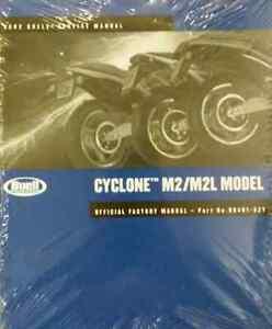 2002-Buell-Cyclone-M2-M2L-Modelos-Servicio-Tienda-Reparar-Manual-Juego-W-Piezas