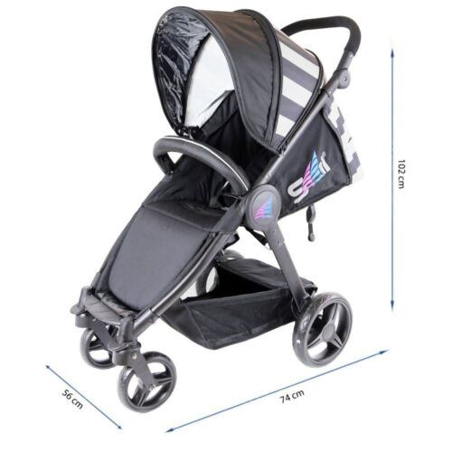 iSafe Sail Baby Stroller Navy SALE!! One Hand Easy Fold