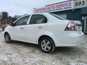 2011 Chevrolet Aveo LT - Fresh Safety, No Damage Record