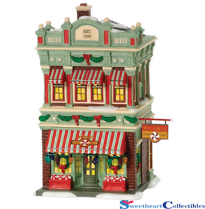 Department-56-A-Christmas-Story-Pulaski-039-s-Candy-Store-805668-Retired