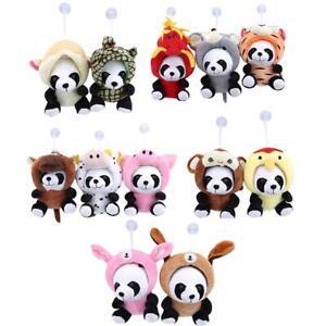 Cute-Plush-Doll-Toy-Stuffed-Chinese-Zodiac-Panda-Soft-Pillow-Cushion-Bolster-SS3