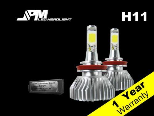 30W 3200LM H11 LED Fog Light Bulb 6500K White High Power for 05-15 Xterra