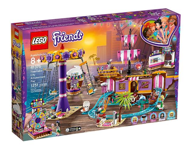 negozio fa acquisti e vendite LEGO Friends 41375 Heartlake città diverdeimenti Pier  NUOVO NUOVO NUOVO   miglior prezzo migliore