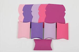 Hervorragend Pillow Box Geschenkschachtel Schachteln Karton selber basteln NN43