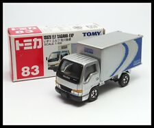 TOMICA #83 ISUZU ELF SAGAWA-EXP EXPRESS TRUCK 1/68 TOMY Diecast Car ( BOX OLD )