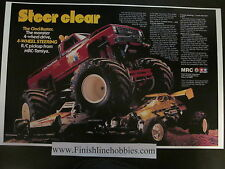 Vintage Tamiya Clodbuster Monster Beetle Hilux Bruiser Juggernaut Posters LOOK