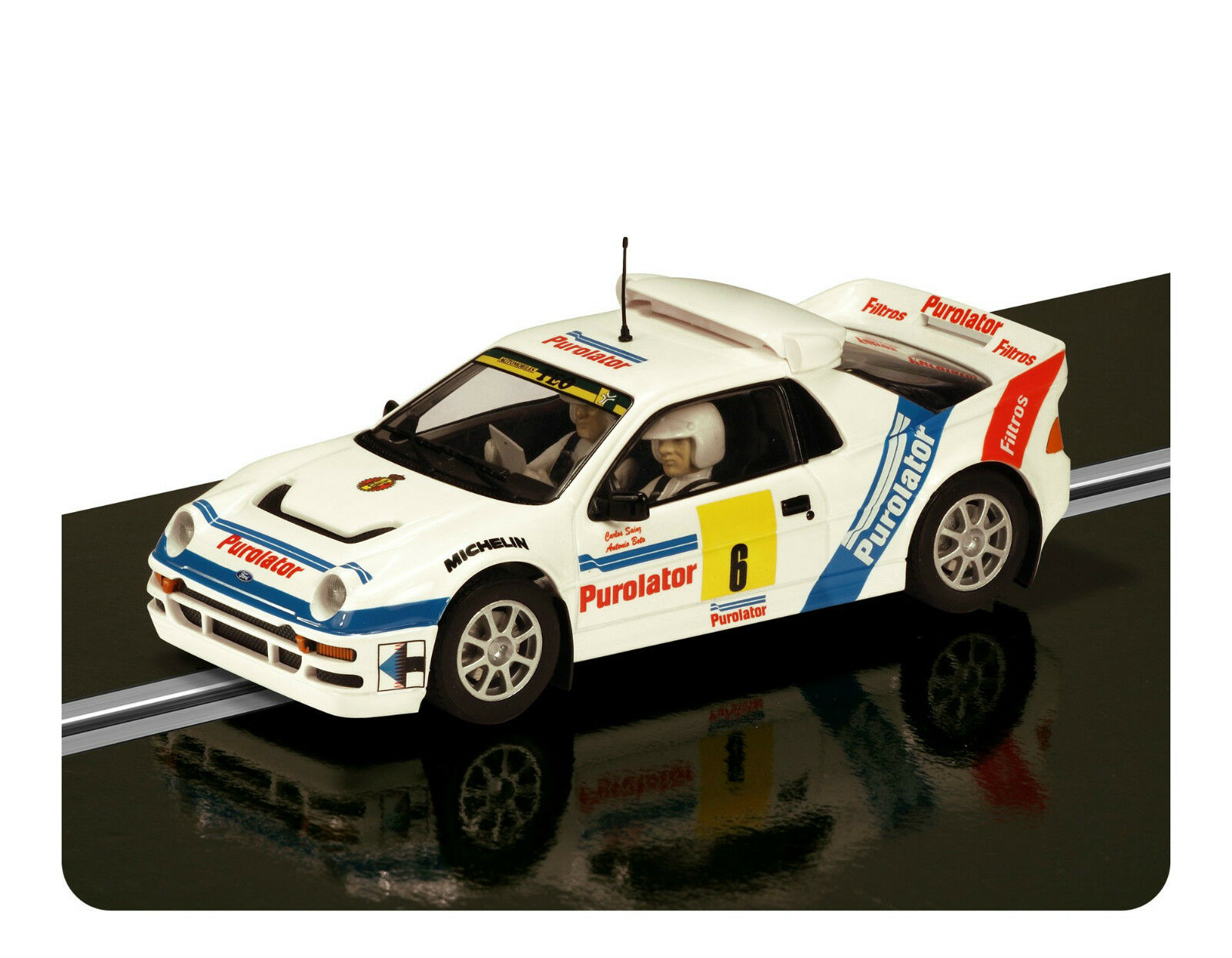SCALEXTRIC C3326 FORD RS 200 Rally Car NEW BOXED