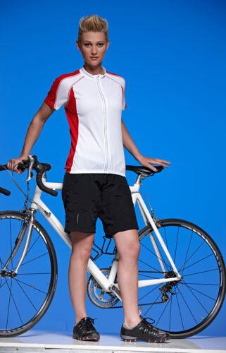 Jn460 James /& Nicholson señora-bicicleta pantalones 2in1 cojín multi brevemente