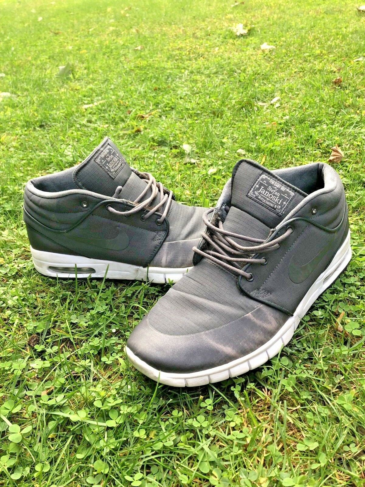 Homme Nike Stefan Janoski SB Max Mid  Gris  Chaussures