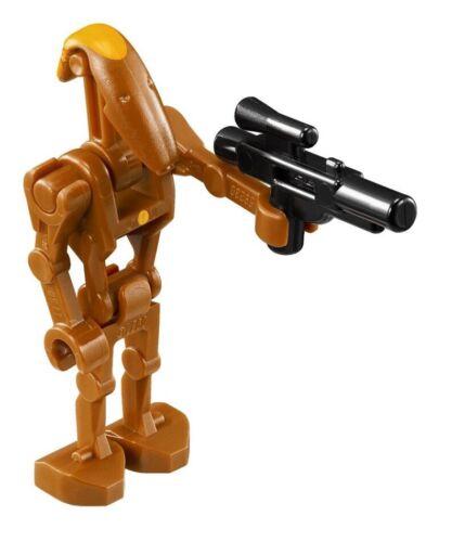 LEGO Star Wars 75019 Battle Droid Commander Minifigure Genuine w// Blaster NEW