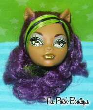 MONSTER HIGH CLAWDEEN WOLF SISTERS 2 PACK DOLL REPLACEMENT HEAD GR84 OOAK