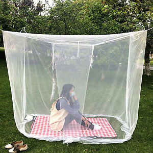 Large White Camping Indoor Outdoor Netting Storage Bag Insect Tent Mosquito Net
