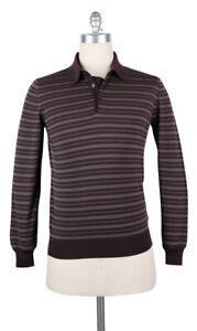 Neu Svevo Parma Braune Wolle Pullover - Polo - M/50 - (1321SA8X68)