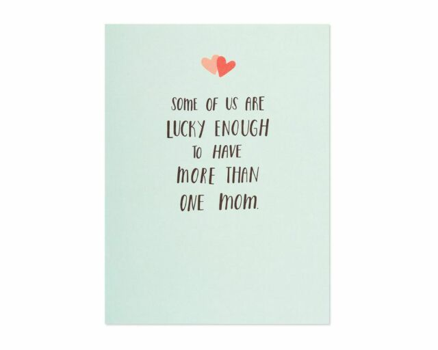paper rebel happy mothers day card lesbian moms  lucky