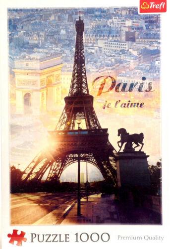Paris im Morgengrauen Pieces - Paris à l/'aube Puzzle 1000 Teile