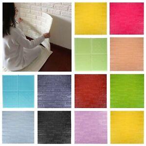 Self-adhesive-Wall-Sticker-Panel-3D-Stone-Brick-Foam-Thick-Wall-Paper-Home-Decor