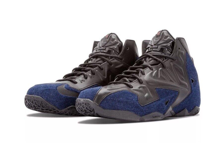 NIKE LEBRON XI EXT QS 659509-004 denim levis james 23 dunkman Jordan 1 Iv 4  9 New shoes for men and women, limited time discount