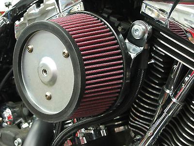 R&R Cycles High Flow Air Cleaner For Harley Davidson SE 64MM Throttle Body  TBW | eBay
