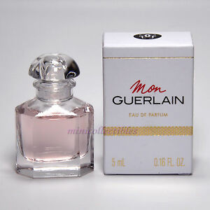 Mini In De Box.Mon Guerlain Eau De Parfum 5 Ml Miniature Mini Perfume Bottle New In