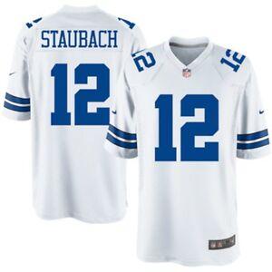 3ae9a038081 Dallas Cowboys - Roger Staubach #12 Nike Men's White Legends NFL ...