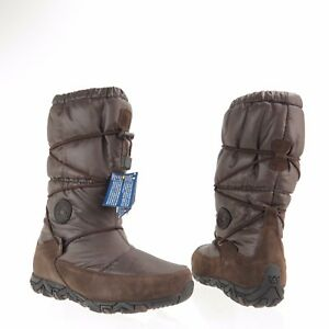 Women s Mephisto Allrounder Willow Shoes Brown Winter Puffy Boots ... 0adf3e4fb7