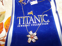 Titanic Jewelry Collection Juliette's Tropic Passion Flower Necklace