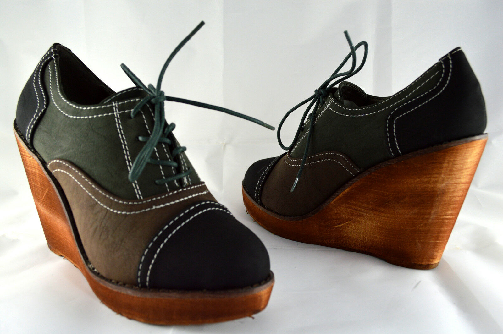 Keilabsatz Damen Schuhe Stiefeletten Wedge Sneaker Boots G36-41 Schwarz A.0103
