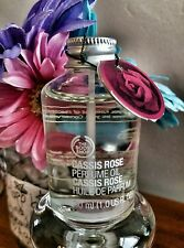 #LowPriceTagEver Perfume Oil 30ml CASSIS ROSE The Body Shop  *NWT Full Size
