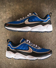 NIKE AIR ZOOM SPIRIDON SZ 8 ULTRA REGAL BLUE MTLC SILVER BLK CRIMSON 876267-400