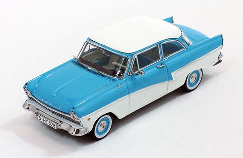 Ford Taunus 17M 1957 Light bluee white 1 43 Model PREMIUMX