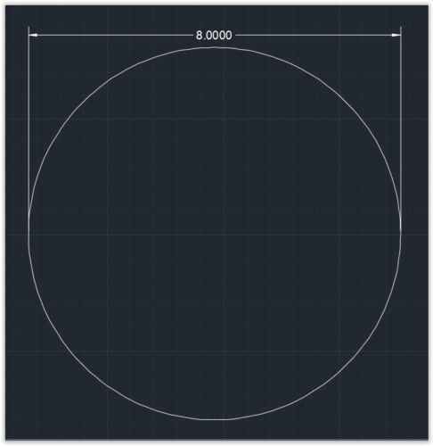 "plexiglass 1//8/"" x 8/""  Circle Clear 1pc Acrylic Plastic Round  Sheet"