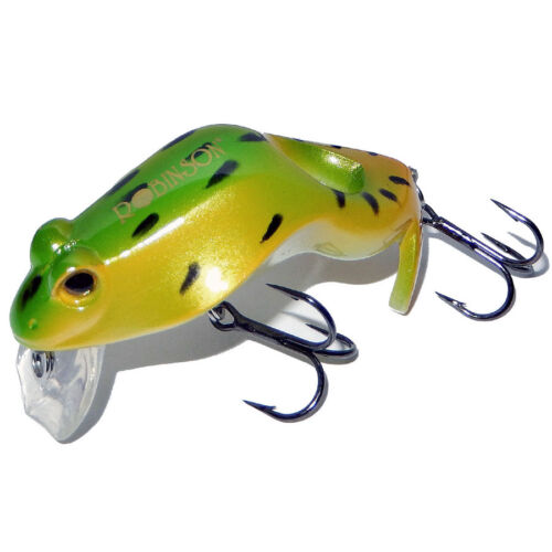 Robinson Super Frog Frosch Wobbler 6cm 11g schwimmend Froschwobbler mit Rassel