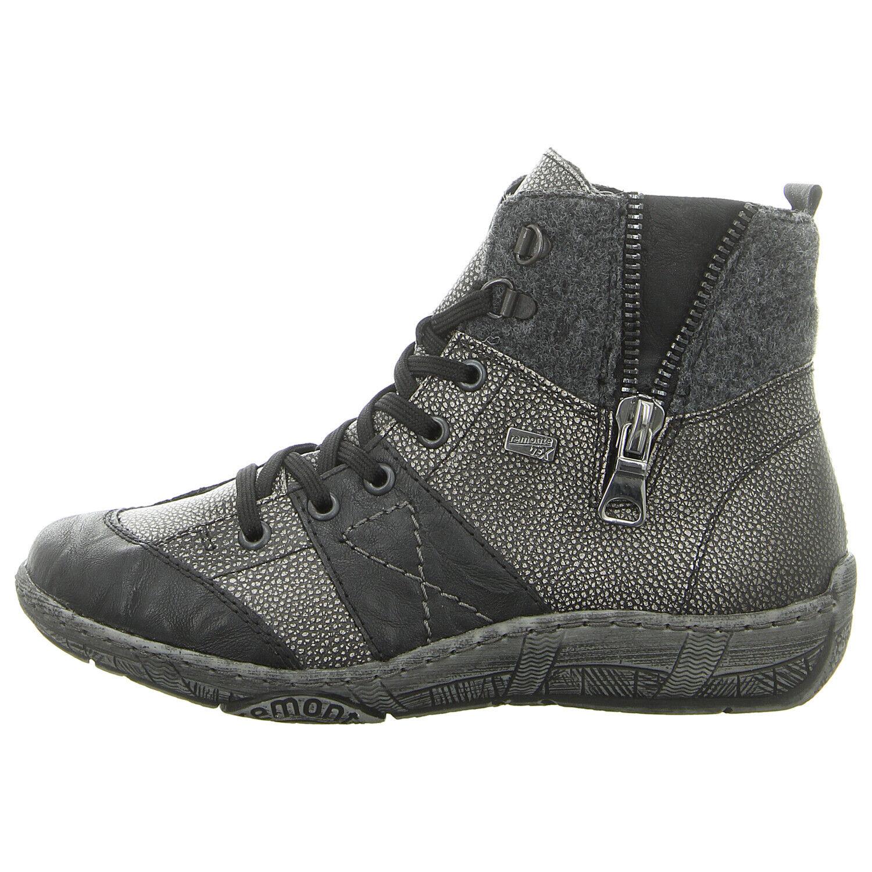 schwarz D3891 02 Schuhe REMONTE kombi Stiefelette NEU (grau