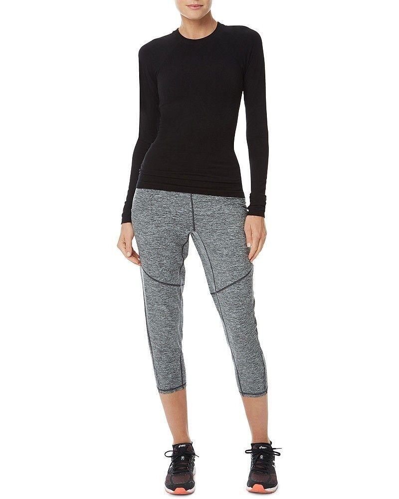 Sweaty Betty Medial 3 4 Run Workout Pants Leggings Size S EB803-B4
