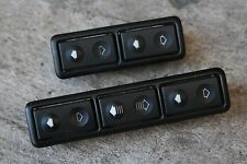 BMW E36 318 323 328 M3 Center Console Window Switches Convertible or Sedan