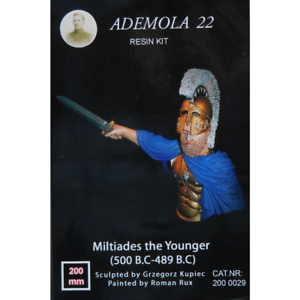 Figurine Miniature - Commandant Athénien Ademola 22 miltiades The Younger