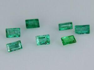 Natural-Emerald-3x2mm-4x2mm-3x2-5mm-2x1-5mm-Step-Loose-Gemstone-Best-Green-VS