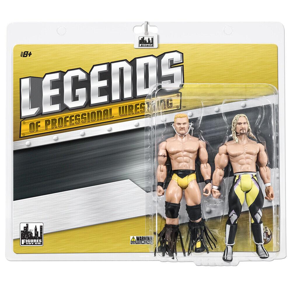 Legends of Wrestling Series azione cifras  Shane Douglas & Jerry Lynn TwoPack