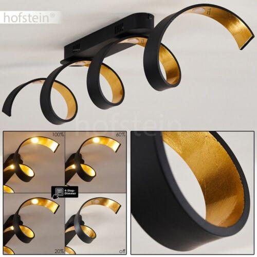 LED Decken Lampen Flur Strahler dimmbar Wohn Schlaf Zimmer Leuchten Schwarz//Gold