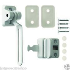 UPVC Door Chain Window Restrictor. Safe T Bar. Extra Security Lock. Child Safety