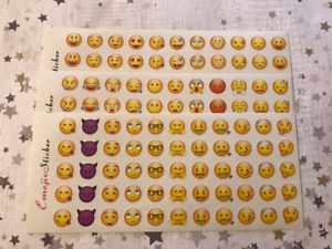 165 Emoji Stickers Planners Children/'s Funny Teachers Rewards Award Party Bags