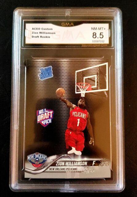 Zion Williamson Drafted Rookie Card Gem MT 8.5 | eBay
