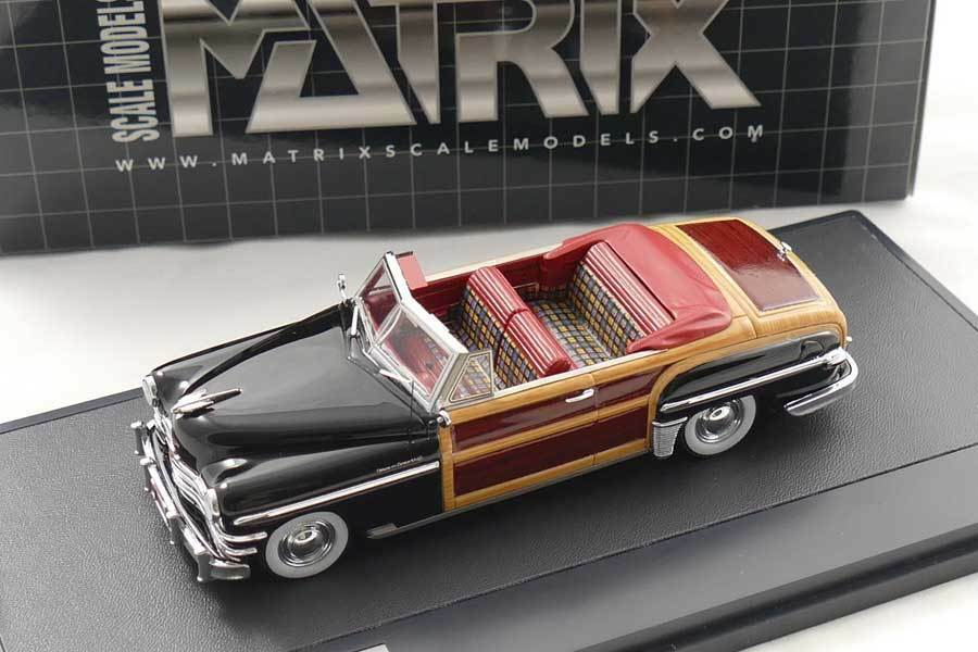 Chrysler Town & Country converdeible coupe 1949-mx20303-042 - Matrix 1 43